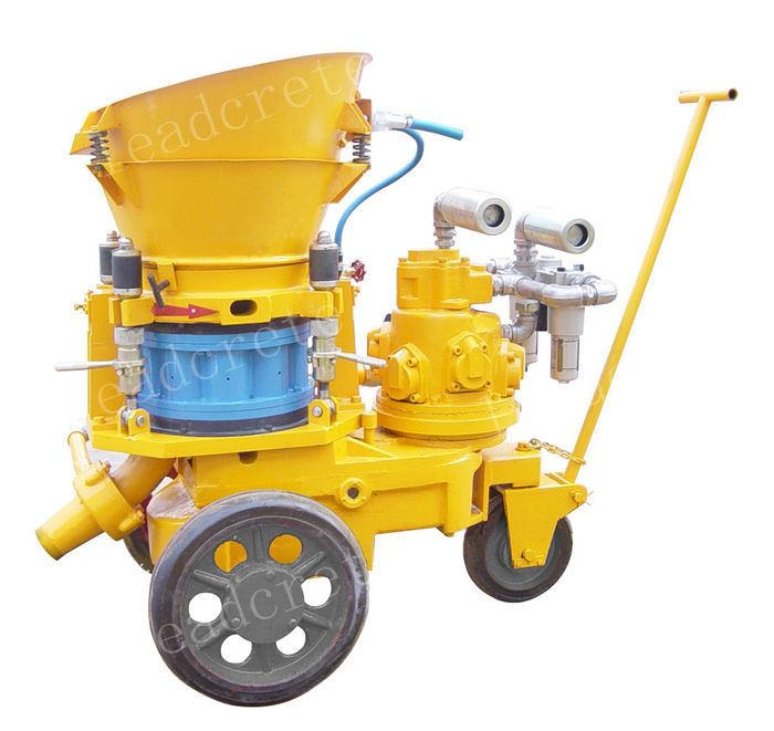 air motor driven dry-mix shotcrete machine for sale