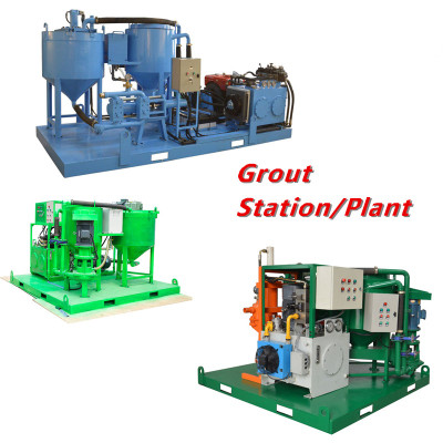 the purpose of cement grout plant