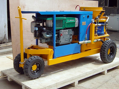 Dry-Mix Shotcrete Machine LZ-9