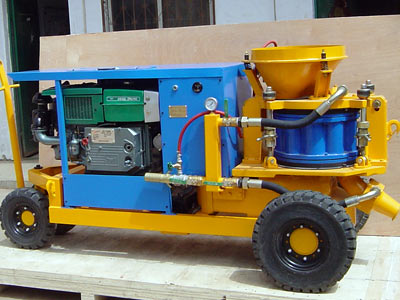 Dry-mix Concrete Spraying Machine LZ-9D