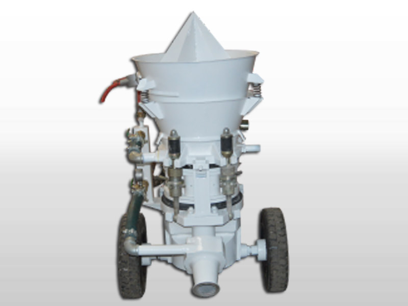 refractory shotcrete equipment