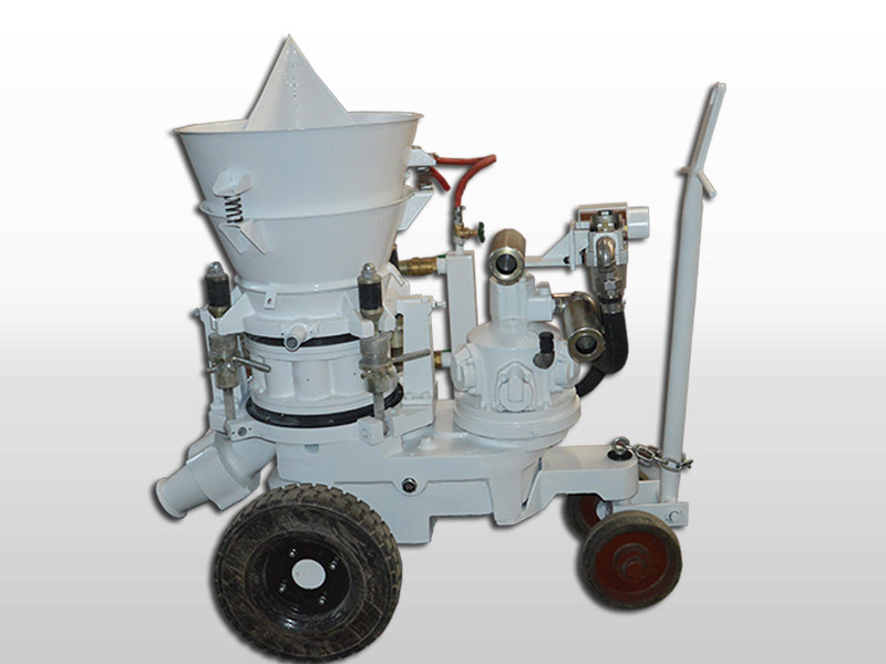 refractory-gunite-machine