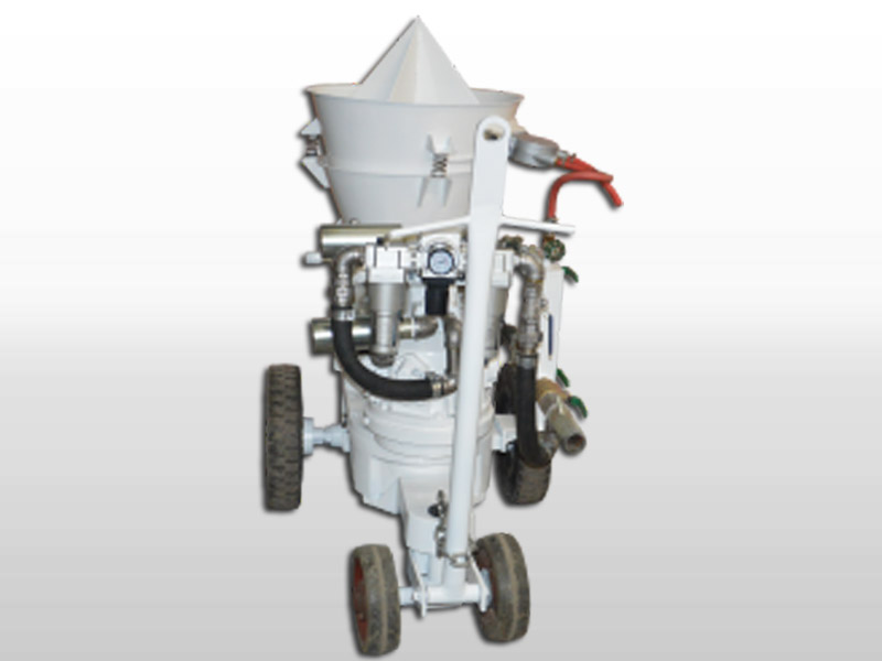refractory shortcrete machine