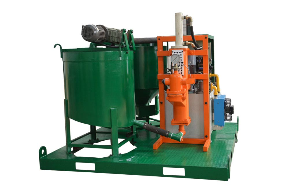 grout mixer and pump