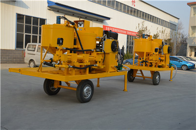 China grouting equipment manufacture