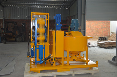 Positive displacement grout pump in Vietnam