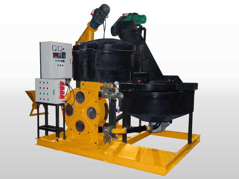 cement foaming machine for wall casting