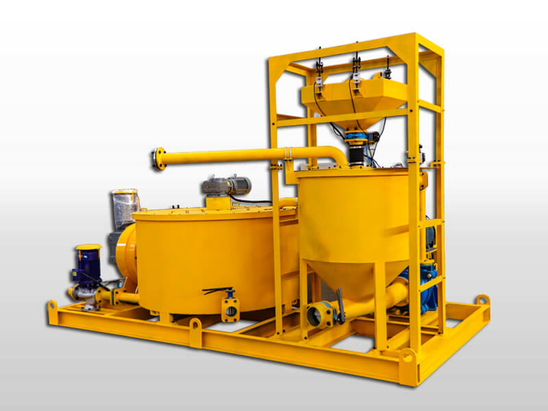 cement grout plant for cementing 500m depth shole