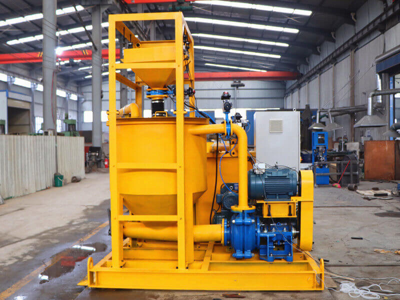 cement grout plant for cementing