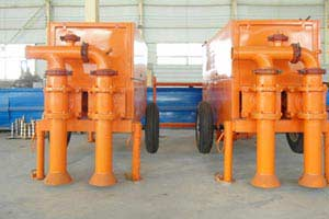 lightweight foam concrete pump