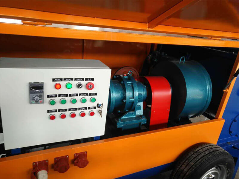 lightweight foam concretre machine