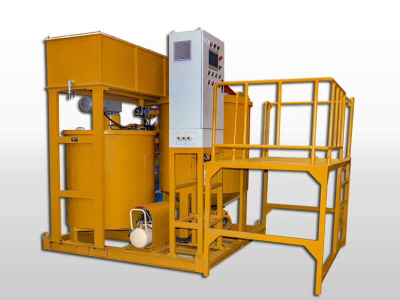 colloidal grout mixer for cement slurry