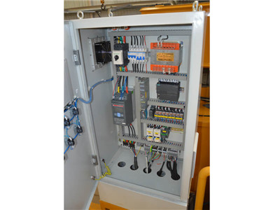 electric control cabinet of grout mixer