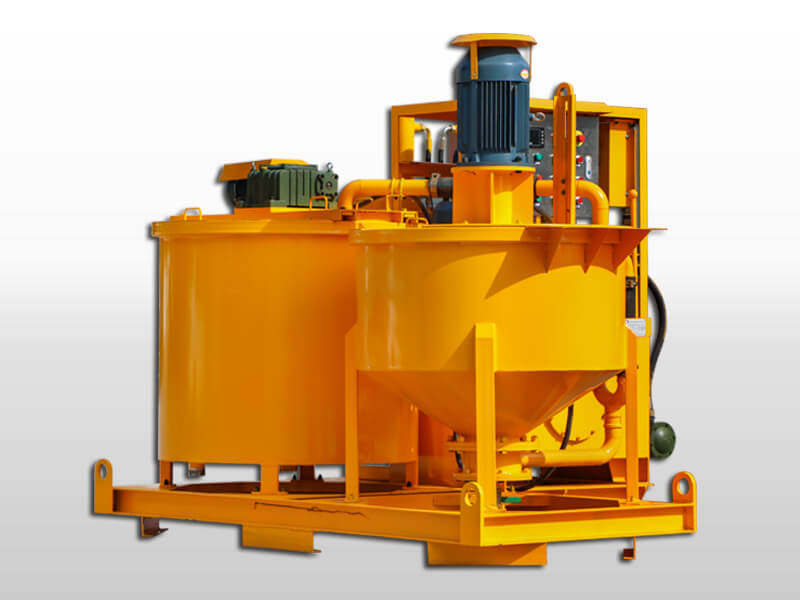 mining grout plant
