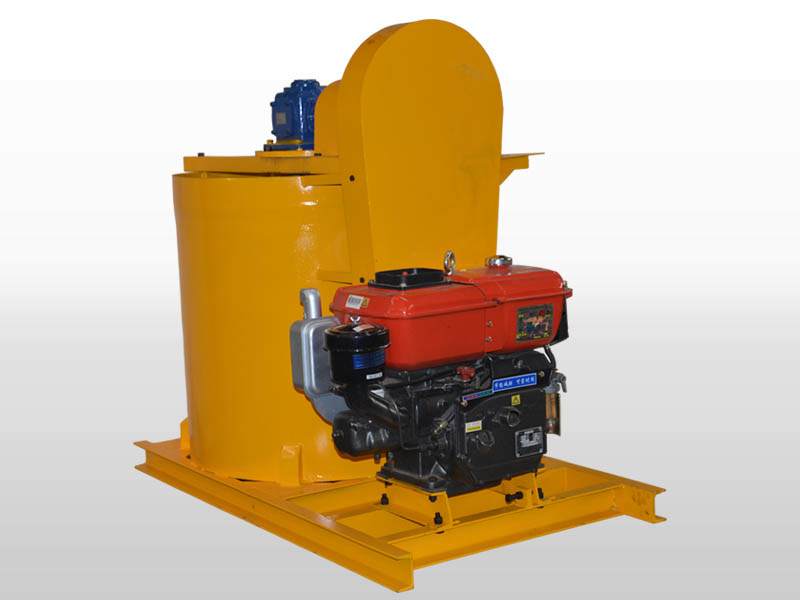 high speed diesel grout mixer