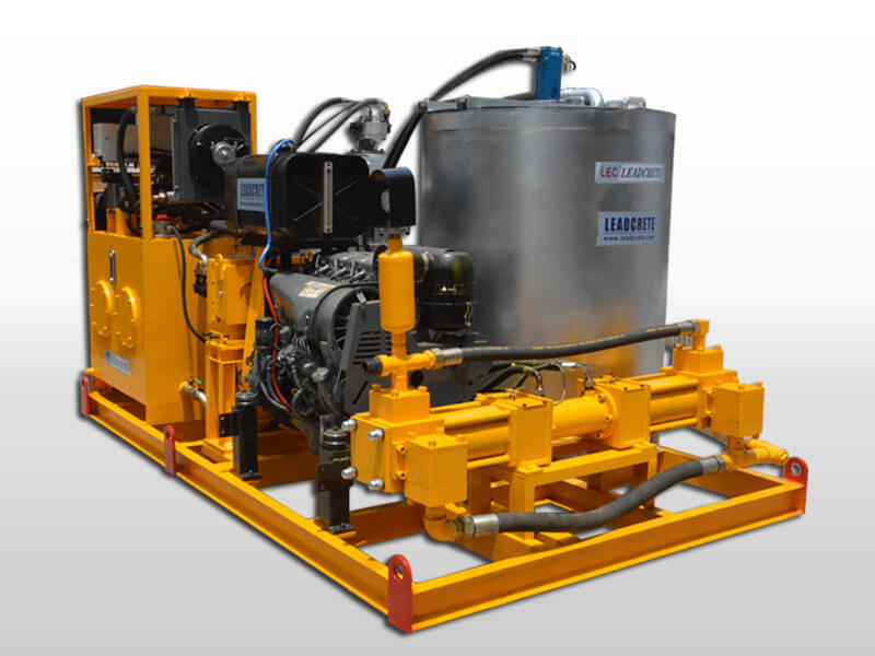 diesel power grout plant