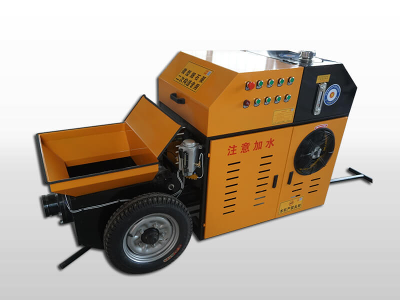 mini portable concrete pump
