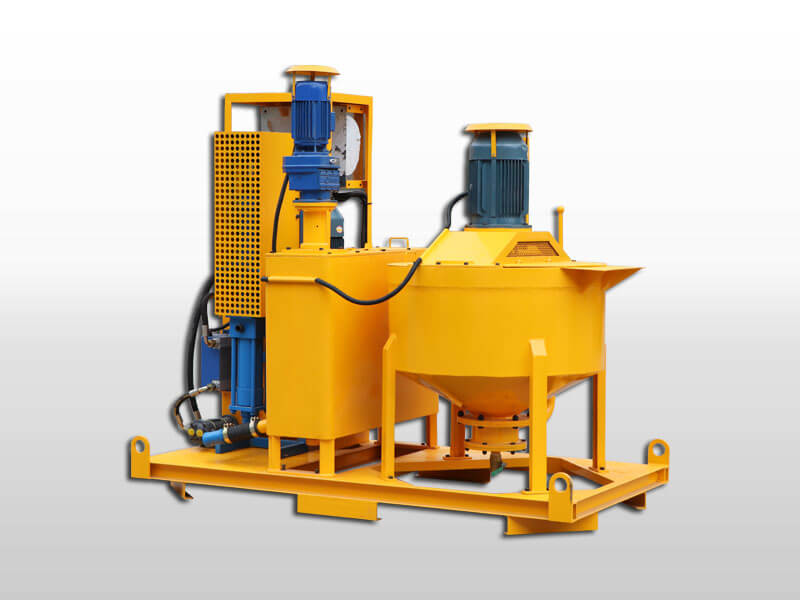 electric grout mixing plant