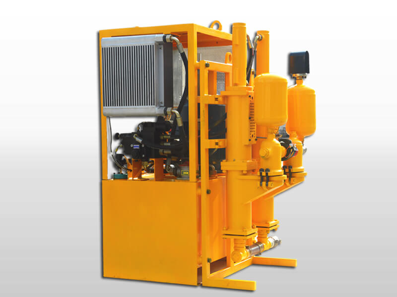 plunger hydraulic grout pump