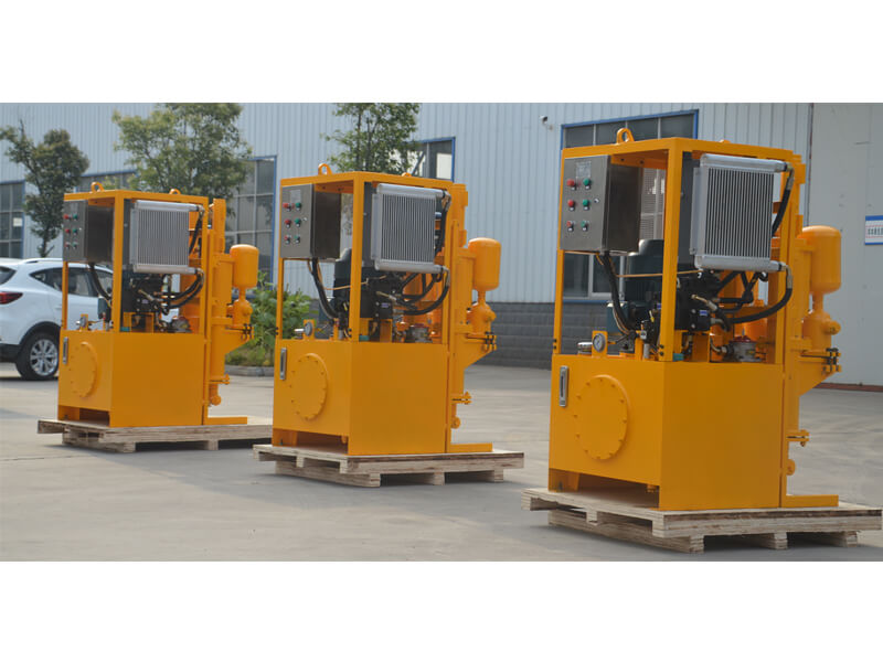 Medium pressure hydraulic grouting pump