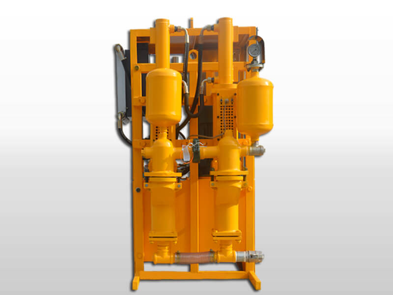 Double-Plunger Hydraulic Grouting Pump