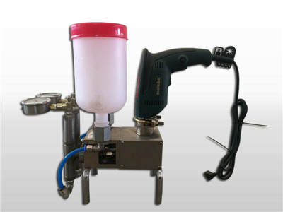 epoxy resin grout injection pump