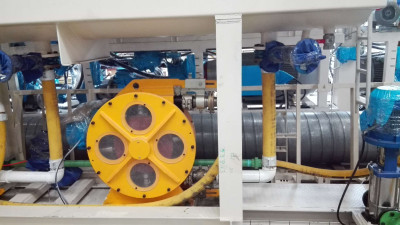 LH32 and LH89 Peristaltic Hose Pump Used in TBM