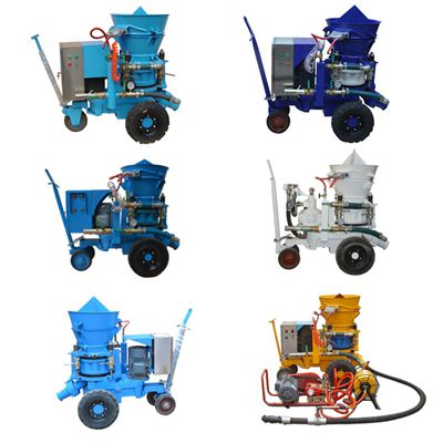 refractory shotcrete machine