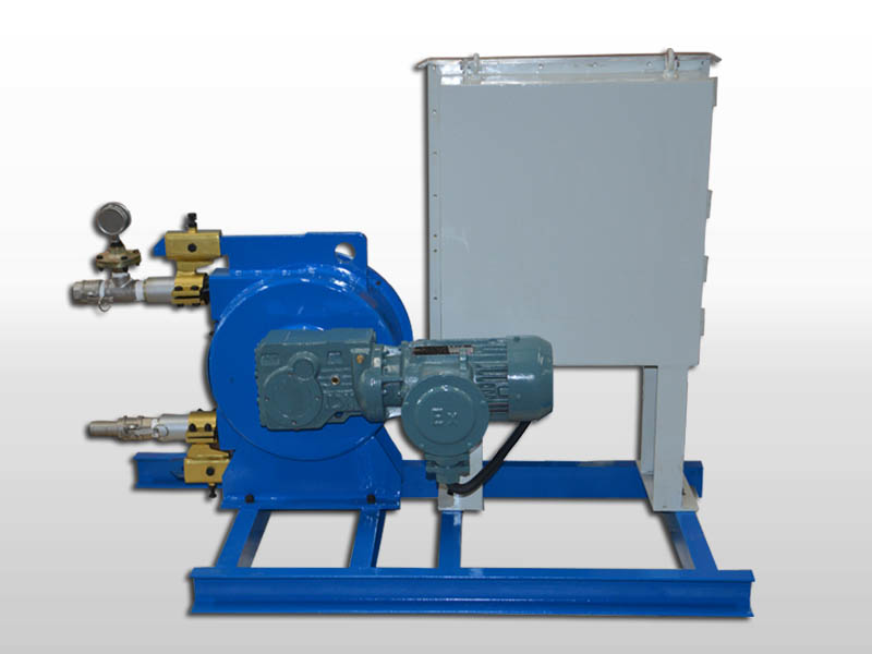 explosion proof squeeze pump