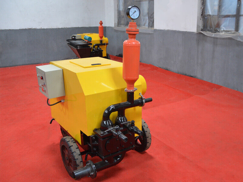 double piston wall plastering machine for sale
