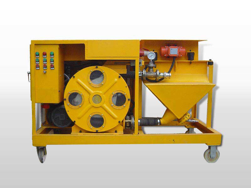 cement spray plaster machine