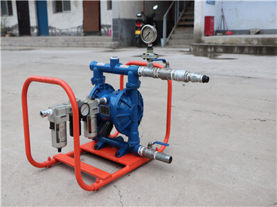 high pressure water pump for refractory machine
