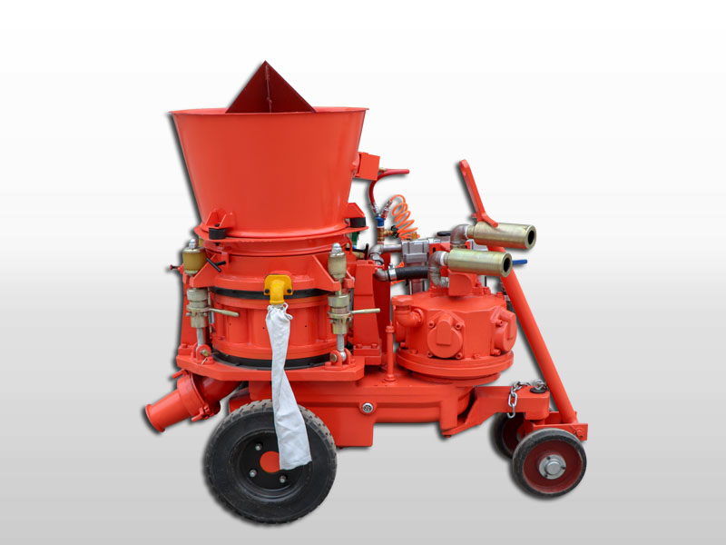 refractory spraying machine for cement industry