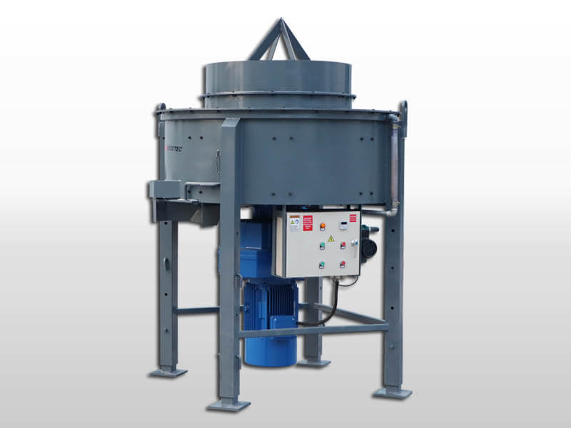 castable mixer for refractory