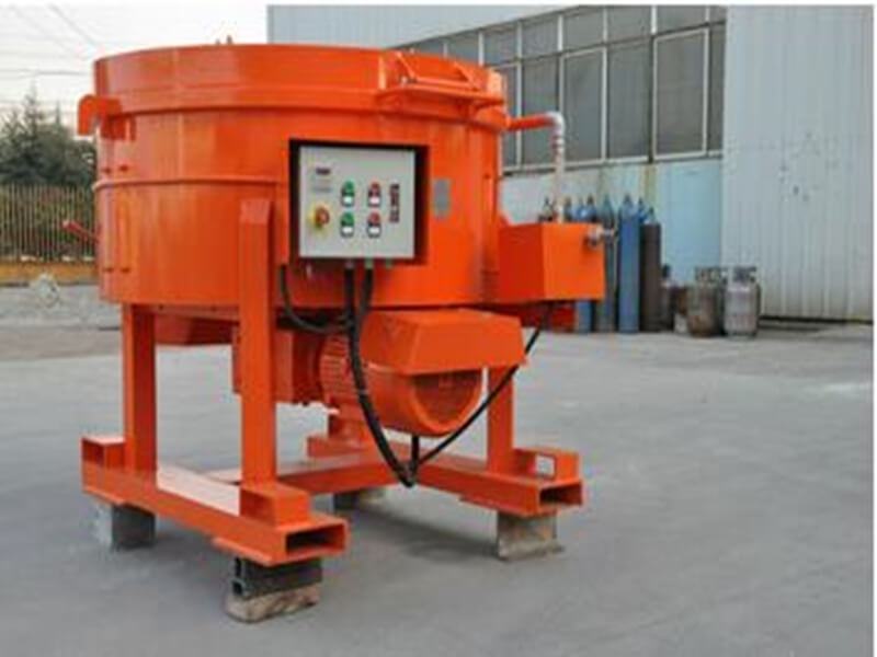 refractory pan mixer for sale