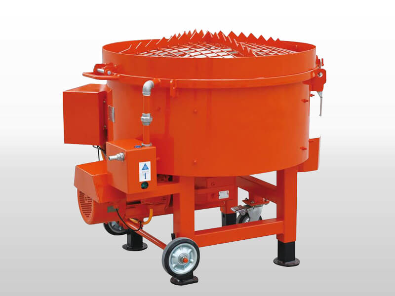 high quality refractory pan mixer