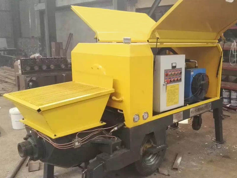 shotcrete concrete pump