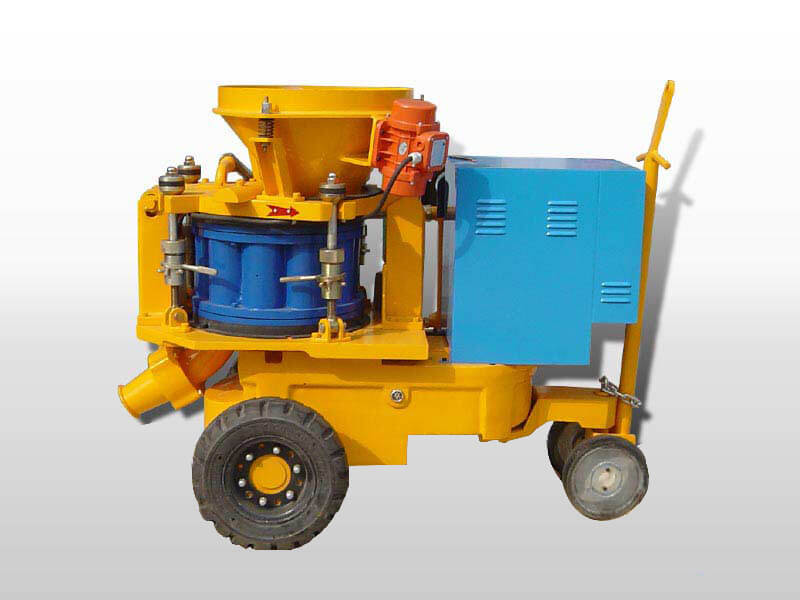 gunite shotcrete machine