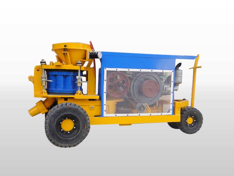 dry-mix shotcrete machine